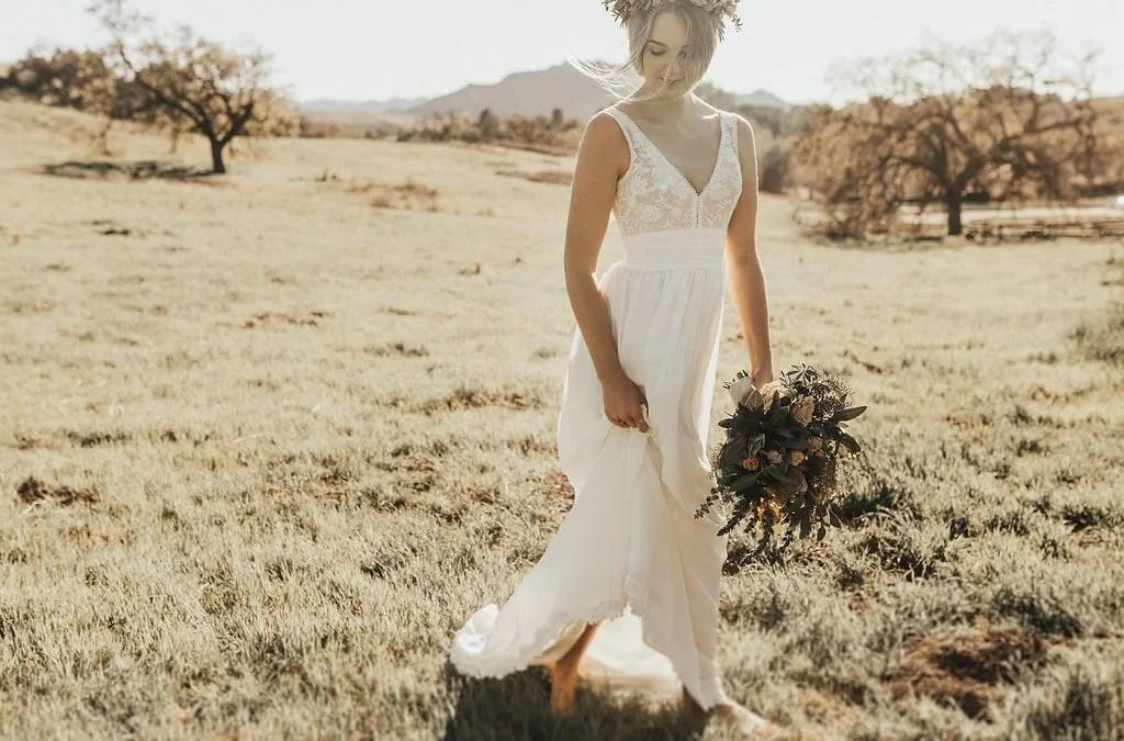 Lumina - Boho Simple Wedding Dresses