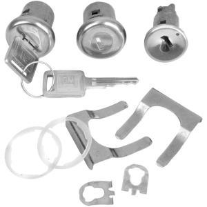 Door / Ignition Lock Set w/ Later Key - 67-72 Chevy & GMC Pickup, 67 Camaro & Firebird, 66-67 Chevelle & Monte Carlo, 66-67 Buick Special & Skylark, 66-67 Cadillac