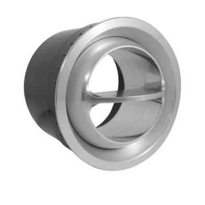 All Aluminum Swivel Ball Louver w/ Brushed Finish