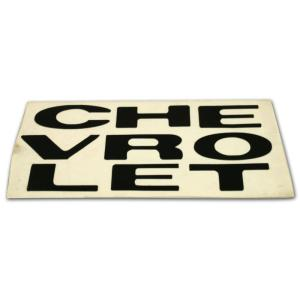 Grill Letter Decal - 67-72 Chevy Pickup