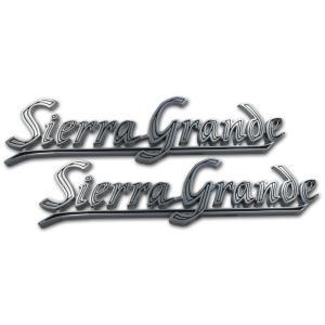 Bedside Emblems - Sierra Grande - 67-72 Chevy Pickup
