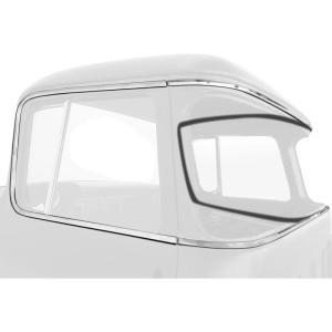 Deluxe Cab & Door Molding Kit - 55-59 Chevy Pickup
