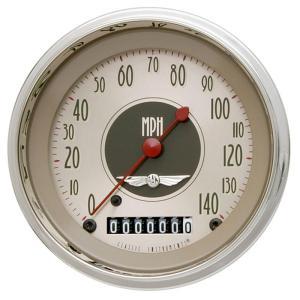 "Classic Instruments All American Nickel - 3-3/8"" Speedometer"