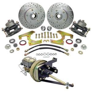 Front 5-Lug Disc Brake Conversion Kit - 47-54 Chevy & GMC Pickup