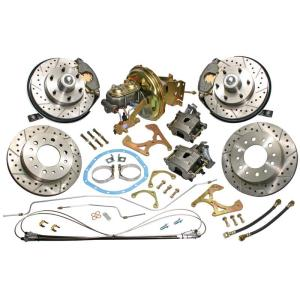 Complete Front & Rear Disc Brake Conversion - 63-66 Chevy & GMC Pickup