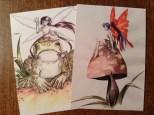 Frog Rider & Mushroom Fairy