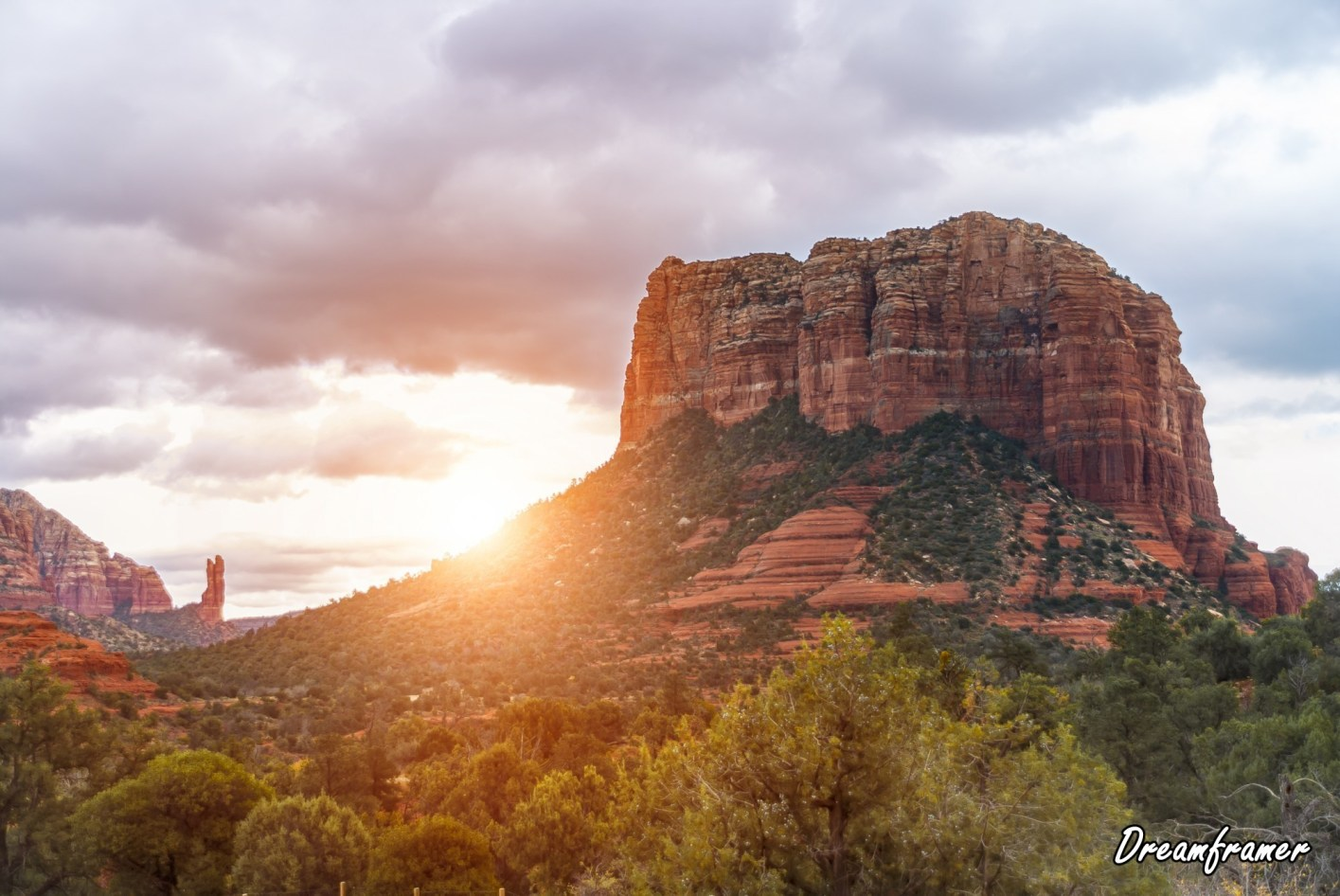 Rocks Near Sedona - ©Dreamframer