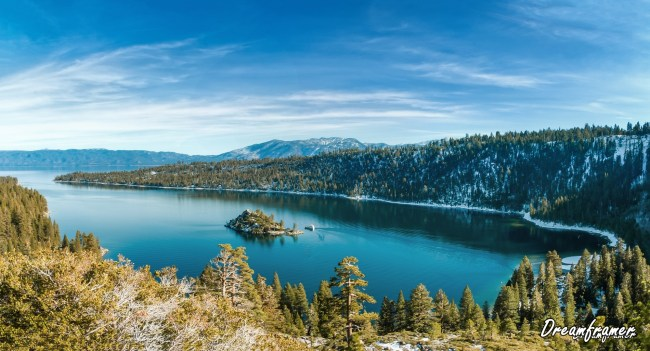 Emerald Bay in Winter - ©Dreamframer