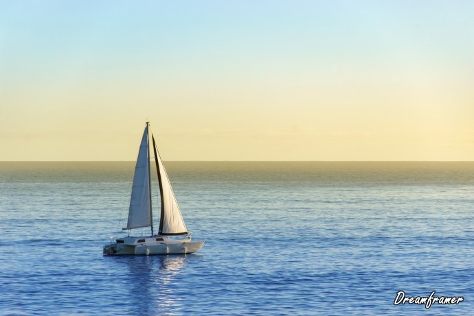 Sailboat - ©Dreamframer