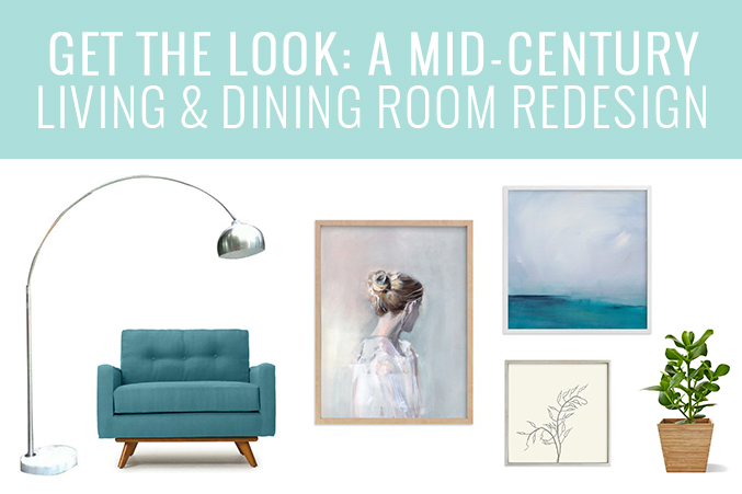 Plans For Our Mid-Century Living & Dining Room Redesign