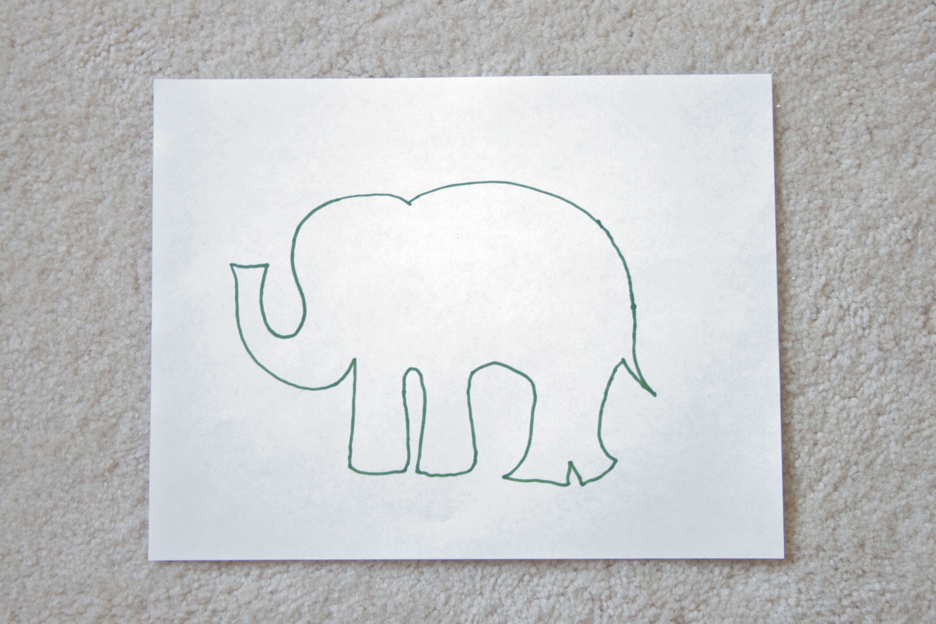 Pinspiration Monday Elephant Wall Art