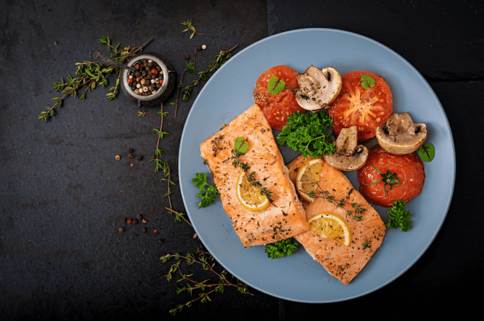 Salmon benefits and risks