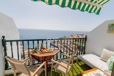 Santiago Beach Studio Apartment, Puerto de Santiago Terrace Real Estate Dream Homes Tenerife