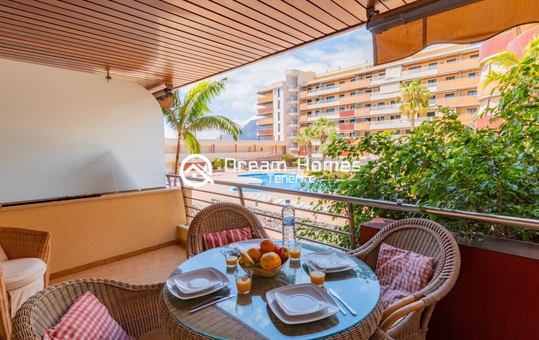 Balcon Gigantes II One Bedroom Apartment Puerto de Santiago Terrace Real Estate Dream Homes Tenerife