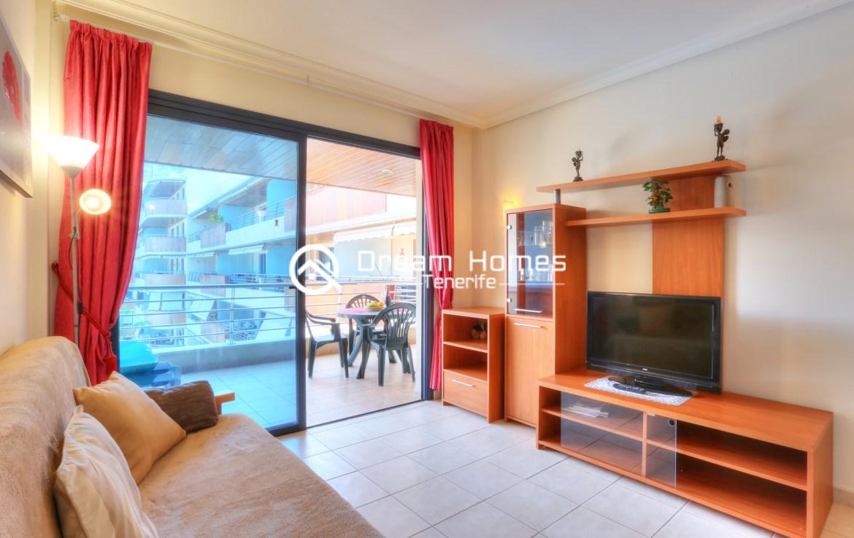 Balcon Gigantes III One Bedroom Apartment, Puerto de Santiago Living Room Real Estate Dream Homes Tenerife