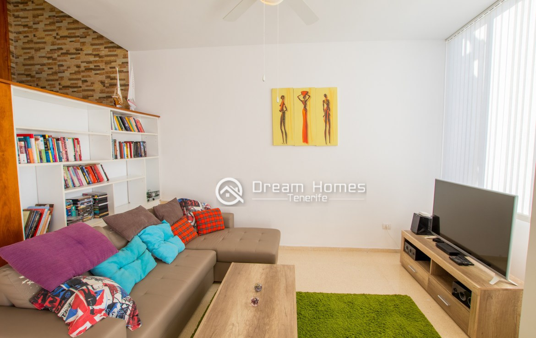 Casablanca Two Bedroom Apartment, Los Gigantes Living Room Real Estate Dream Homes Tenerife