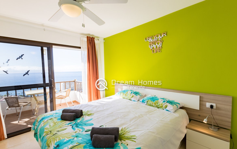 Casablanca Two Bedroom Apartment, Los Gigantes Bedroom Real Estate Dream Homes Tenerife