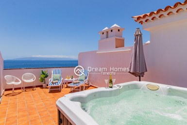For Holiday Rent Four Bedroom Ocean View Penthouse With Jacuzzi Terrace Real Estate Dream Homes Tenerife
