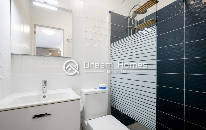 Modern 3 Bedroom Apartment in Los Gigantes Bathroom Real Estate Dream Homes Tenerife