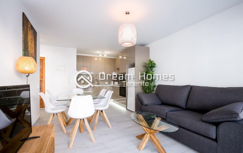 Modern 3 Bedroom Apartment in Los Gigantes Living Room Real Estate Dream Homes Tenerife