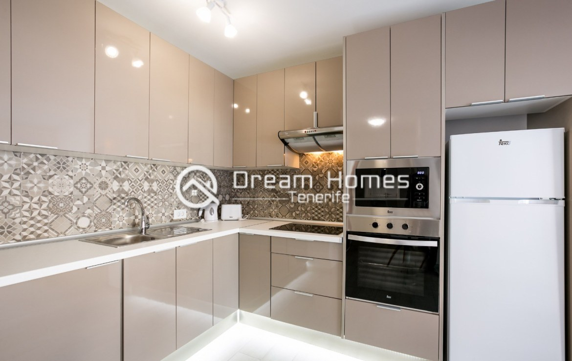 Modern 3 Bedroom Apartment in Los Gigantes Kitchen Real Estate Dream Homes Tenerife