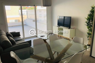 Spacious 3 Bedroom Apartment in Los Gigantes Dining Area Real Estate Dream Homes Tenerife