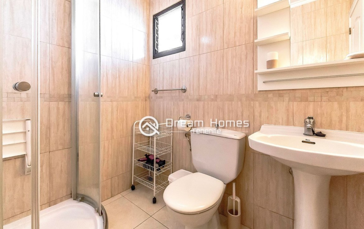 Great Two Bedroom Apartment for sale in Los Cristianos Bathroom Real Estate Dream Homes Tenerife