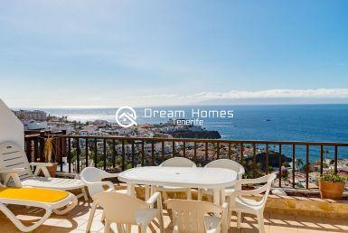 Superb Duplex With Ocean View Terrace Real Estate Dream Homes Tenerife