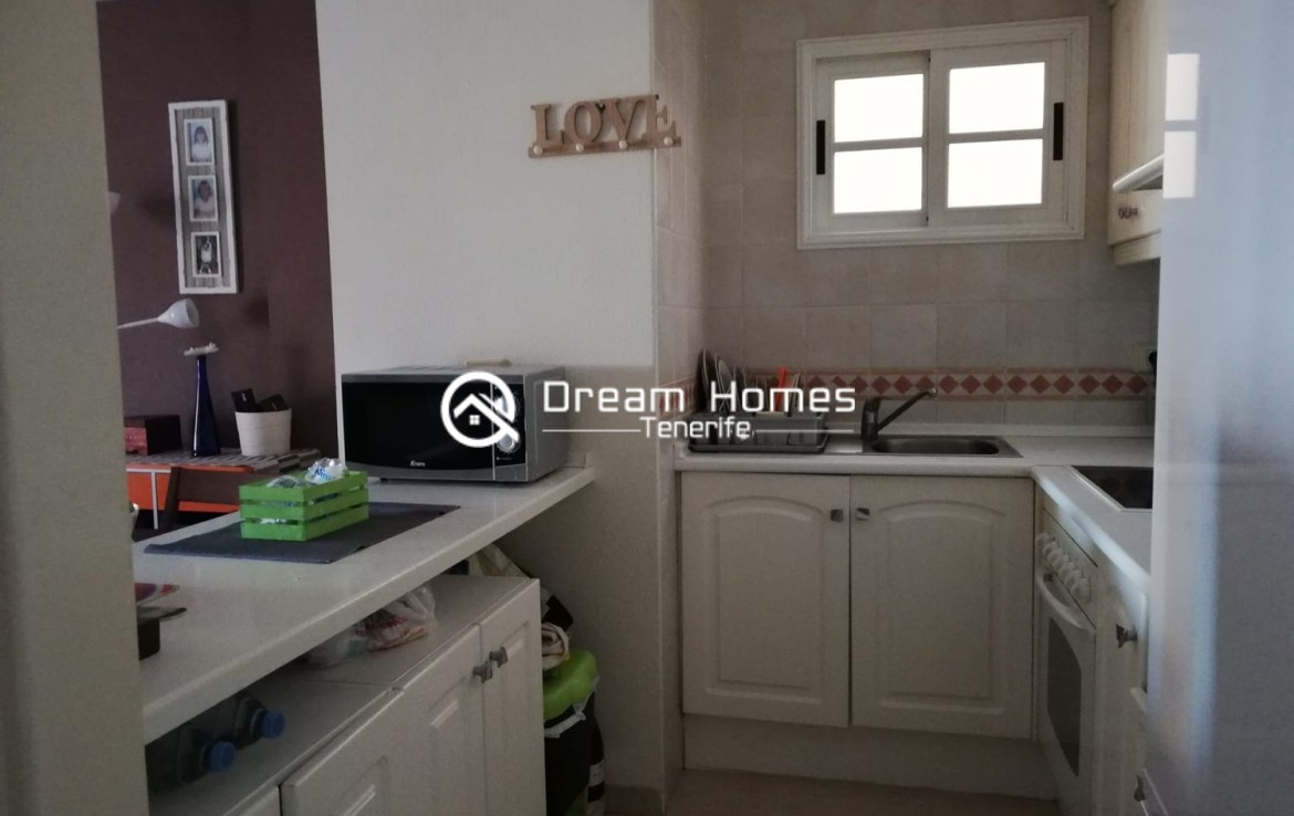 2 Bedroom Apartment in Los Cristianos Kitchen Real Estate Dream Homes Tenerife