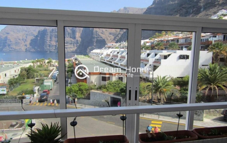 2 Bedroom Beautiful View Apartment in Los Gigantes Terrace Real Estate Dream Homes Tenerife