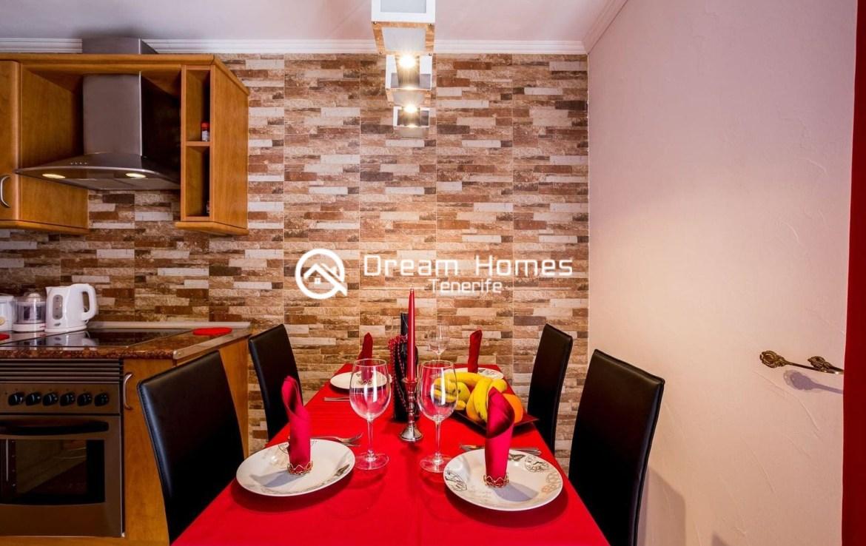 Beautiful Apartment for rent in Puerto de Santiago Dining Area Real Estate Dream Homes Tenerife