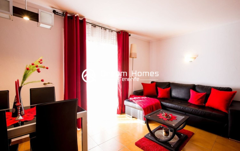 Beautiful Apartment for rent in Puerto de Santiago Living Room Real Estate Dream Homes Tenerife