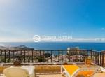 For Holiday Rent Two Bedroom Penthouse Duplex Apartment Swimming Pool Terrace Ocean View Puerto de Santiago Los Gigantes1