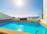 For Holiday Rent Two Bedroom Penthouse Duplex Apartment Swimming Pool Terrace Ocean View Puerto de Santiago Los Gigantes29
