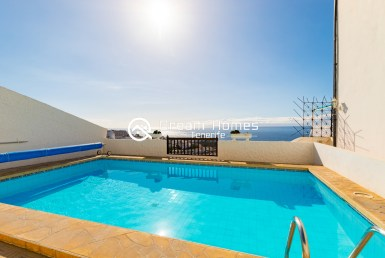 Fantastic Oceanview Penthouse For Rent in Los Gigantes Pool Real Estate Dream Homes Tenerife