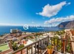 For Holiday Rent Two Bedroom Penthouse Duplex Apartment Swimming Pool Terrace Ocean View Puerto de Santiago Los Gigantes3