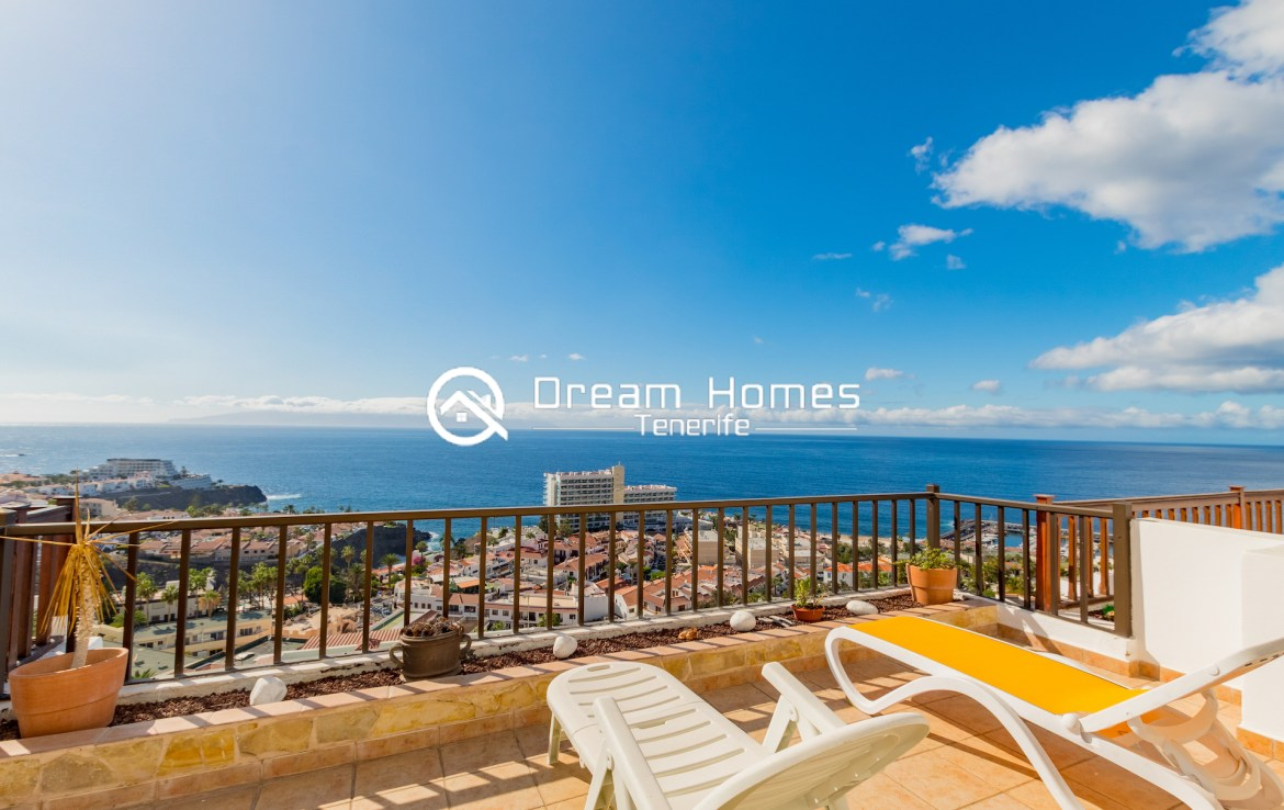 Fantastic Oceanview Penthouse For Rent in Los Gigantes Terrace Real Estate Dream Homes Tenerife