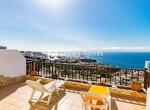 For Holiday Rent Two Bedroom Penthouse Duplex Apartment Swimming Pool Terrace Ocean View Puerto de Santiago Los Gigantes7