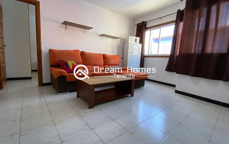 Good Value Apartment in Puerto de Santiago Living Room Real Estate Dream Homes Tenerife