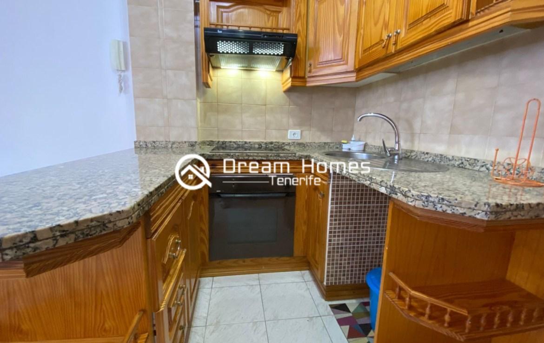 Good Value Apartment in Puerto de Santiago Kitchen Real Estate Dream Homes Tenerife