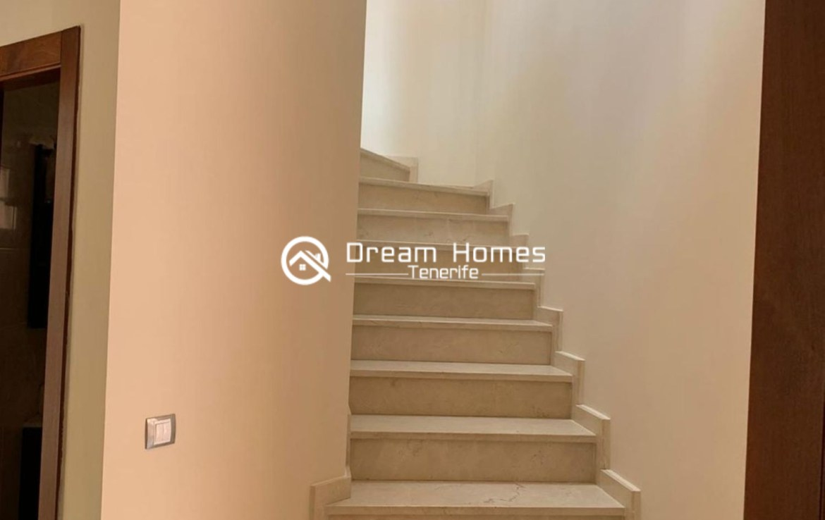 Lovely Family Home in Costa Adeje Stairs Real Estate Dream Homes Tenerife