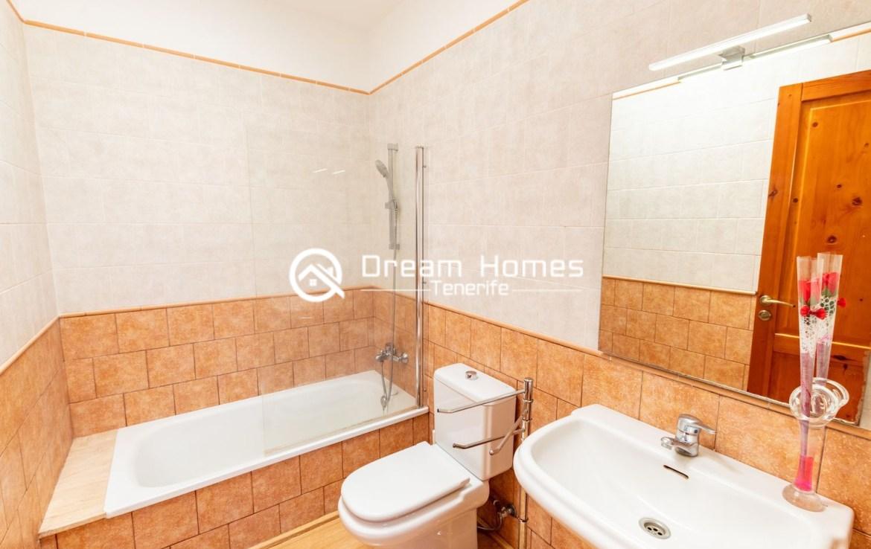 One Bedroom Apartment in Santiago del Teide Bathroom Real Estate Dreams Homes Tenerife