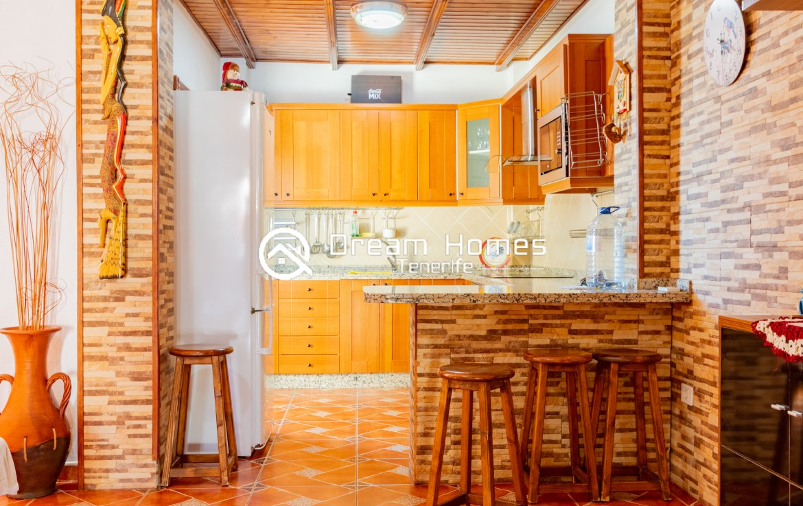 Family Apartment for Rent in Alcala Dining Area Real Estate Dream Homes Tenerife