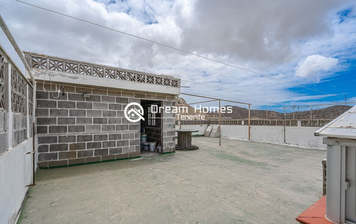 Family home in Cabo Blanco Roof Top Real Estate Dream Homes Tenerife