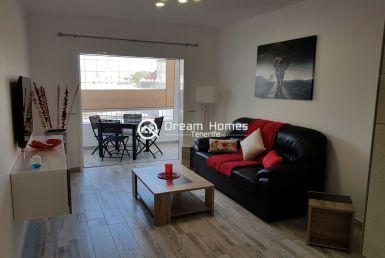 Colina II Fully Furnished Apartment, Los Cristianos Living Room Real Estate Dream Homes Tenerife