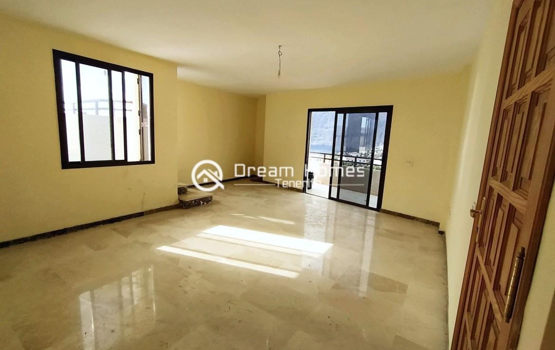 Four Bedroom Penthouse in Puerto de Santiago Living Room Real Estate Dream Homes Tenerife