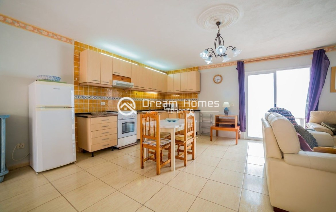 Large Family Home in Playa Paraiso Dining Area Real Estate Dream Homes Tenerife