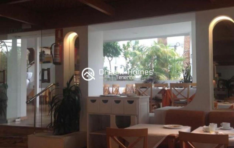 Lovely Studio in Ponderosa Complex in Costa Adeje Dining Area Real Estate Dream Homes Tenerife