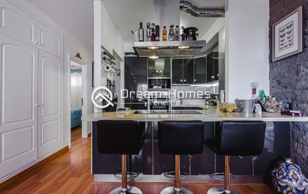 Spectacular View Penthouse in Roque del Conde Kitchen Real Estate Dream Homes Tenerife