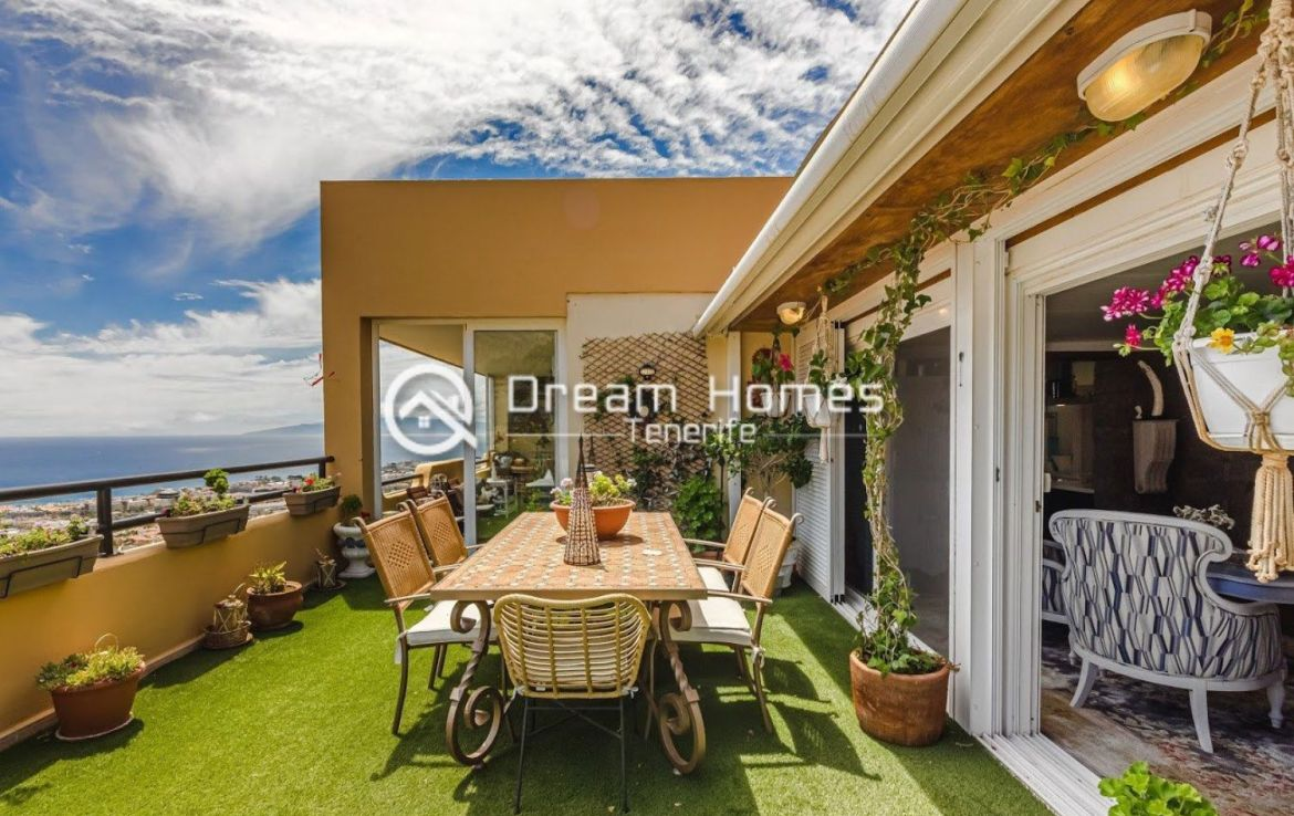 Spectacular View Penthouse in Roque del Conde Terrace Real Estate Dream Homes Tenerife